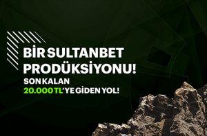 Sultanbet'te 20.000 TL büyük ödül kazan